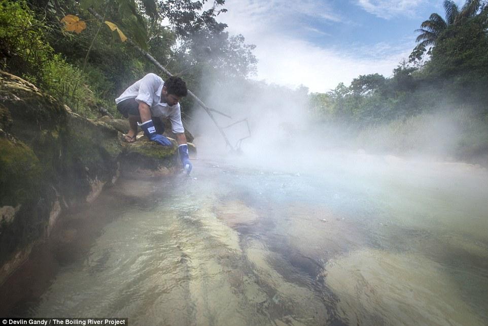 Mới tìm thấy khúc sông Amazon bí ẩn biến bạn thành con tôm luộc - Ảnh 3.