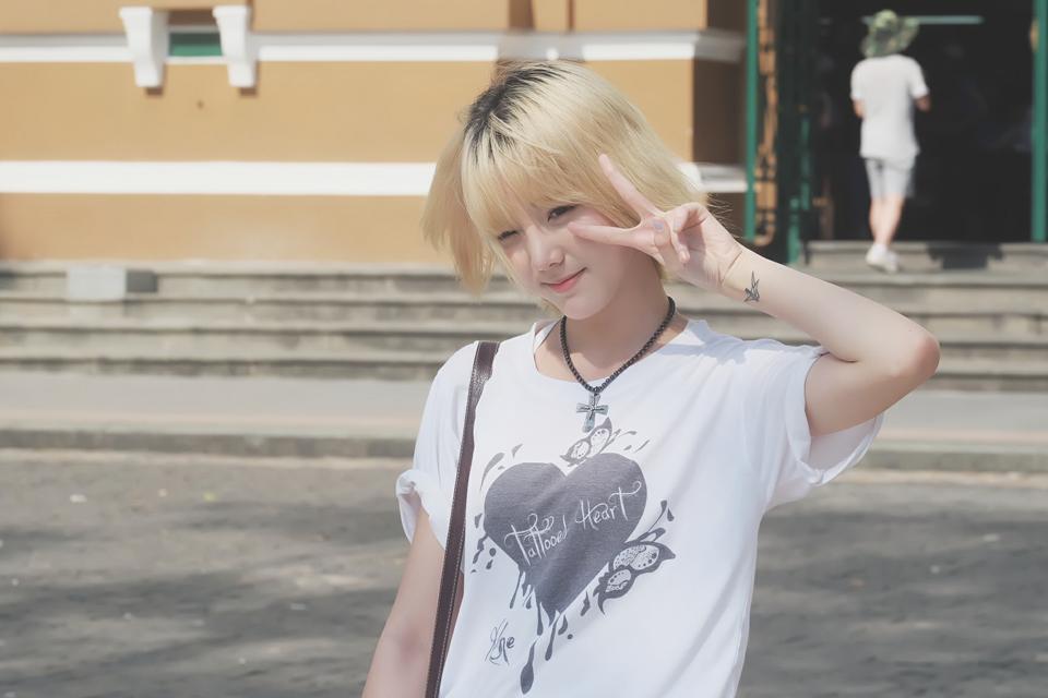 Hot girl Nene đình đám của Thái khoe ảnh tung tăng du hí ở Sài Gòn - Ảnh 10.