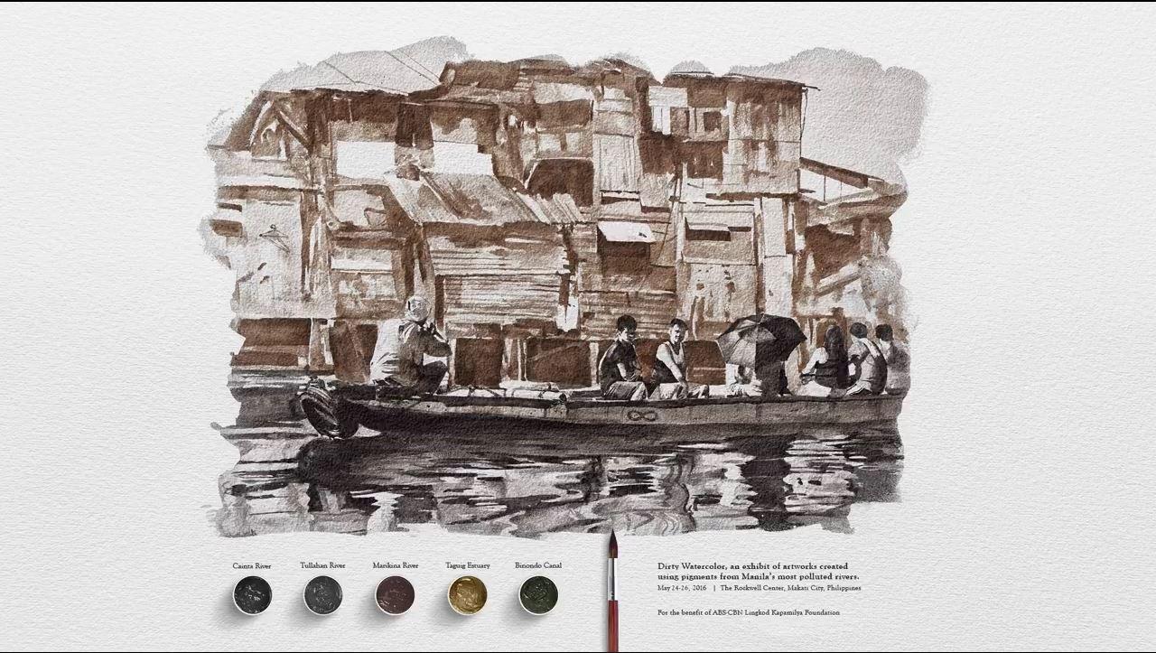 Từ nước thải hóa thành các tác phẩm hội họa ấn tượng - Ảnh 5.