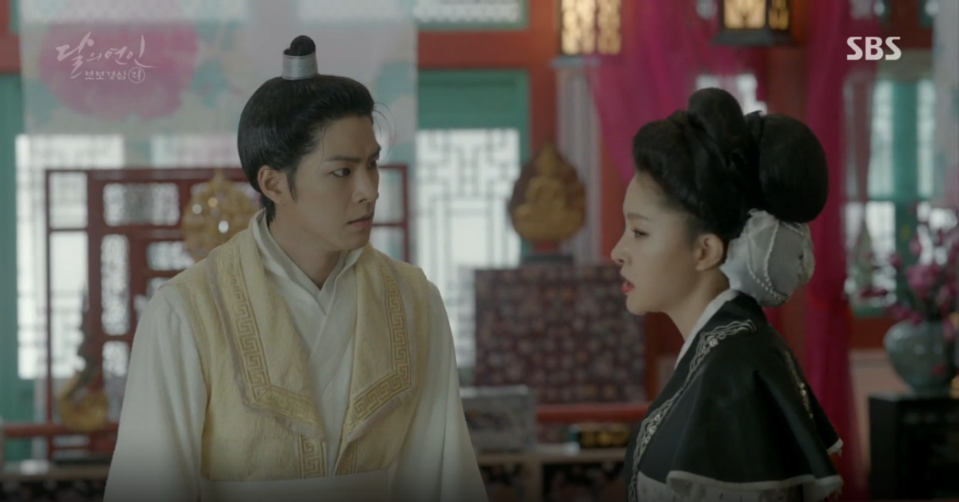 Moon Lovers: Hoàng tử Baekhyun sống chết đòi tự tử để không phải thành thân - Ảnh 14.