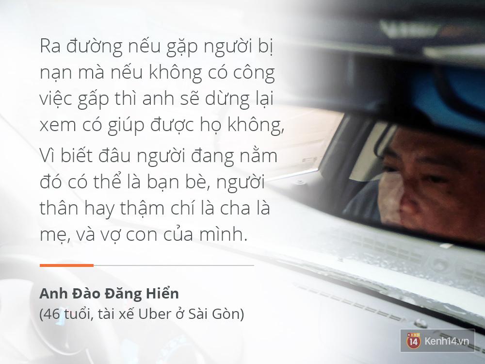Anh lái taxi vui tính nhất Sài Gòn và chuyện Sống trên đời mỗi người nhường nhau một tí, thì chuyện gì cũng giải quyết - Ảnh 9.