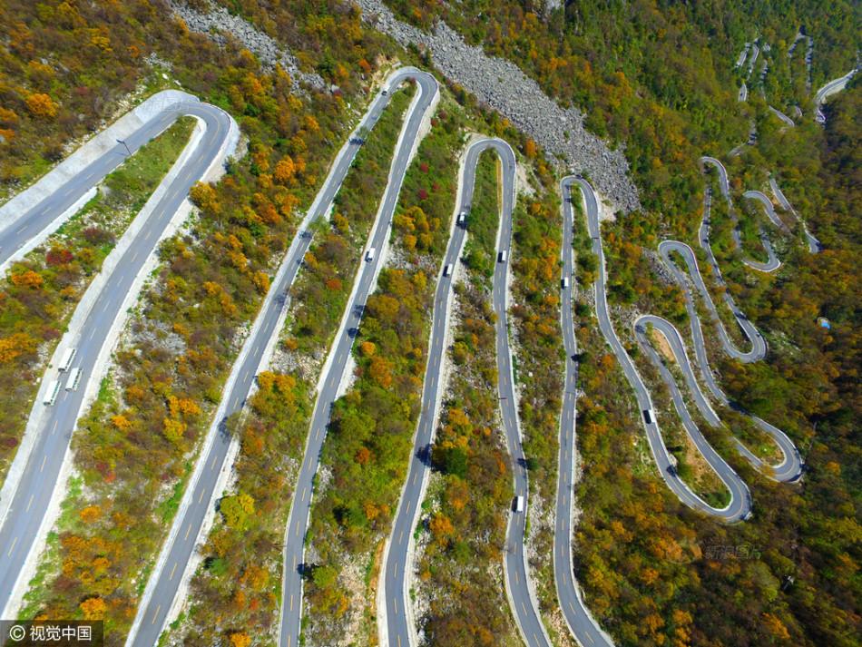 Con đường lắt léo nhất Trung Quốc: Thách bạn đi hết 72 khúc ngoặt này mà không chóng mặt - Ảnh 5.
