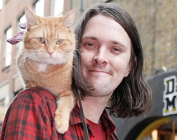 Cứu rỗi chàng nghệ sĩ nghèo vào thời điểm khốn khó nhất, chú mèo vàng trở thành nguồn cảm hứng của cả thế giới - Ảnh 4.