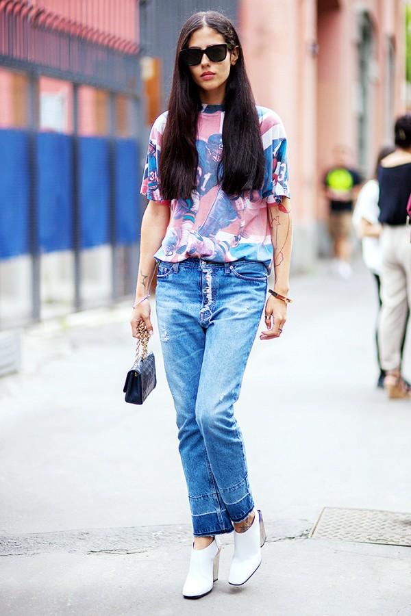 6 cách làm mới quần jeans đảm bảo chất từ các fashion blogger mà bạn nên học hỏi - Ảnh 10.