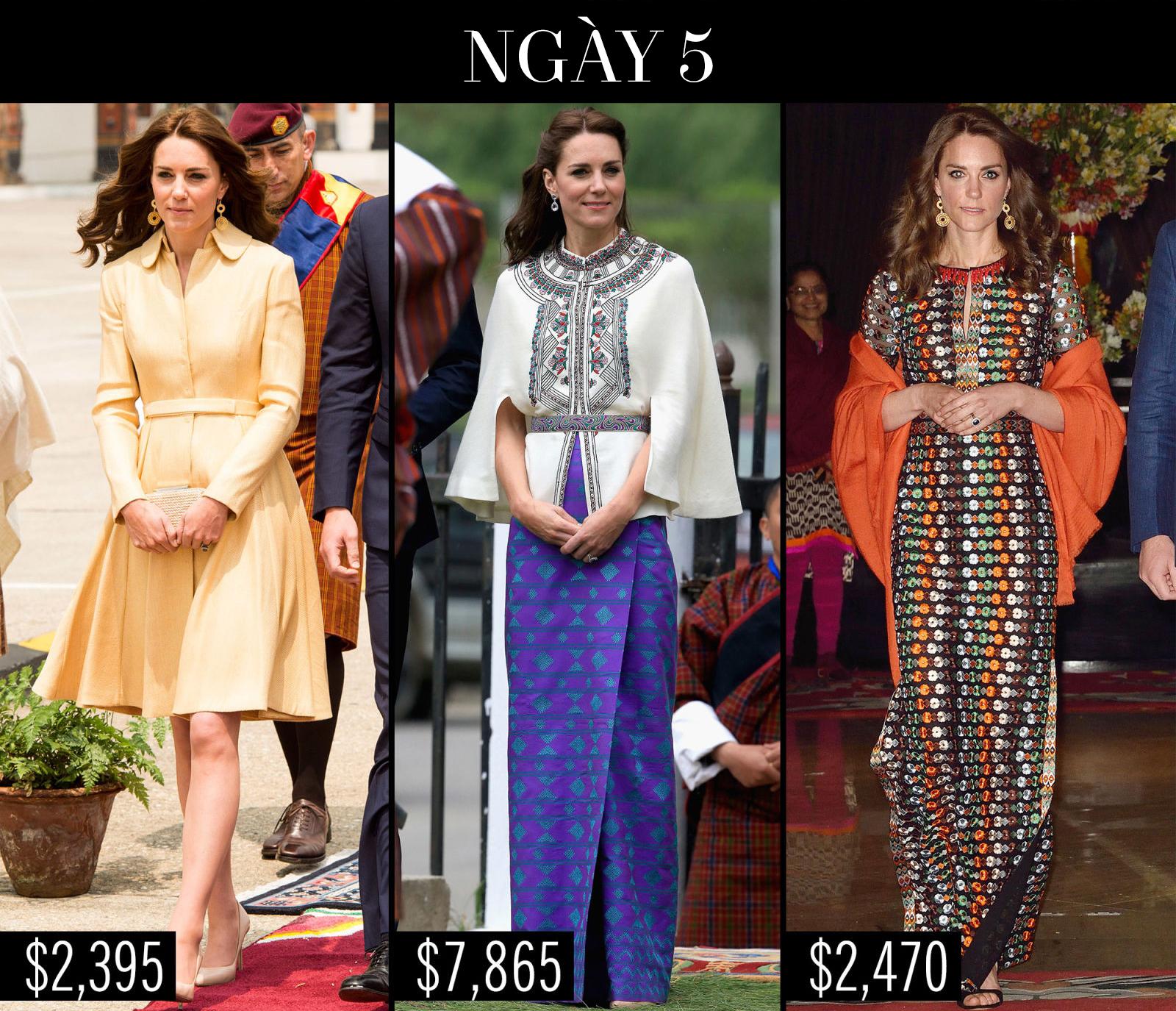Công nương Kate chi hơn 1 tỉ VNĐ cho 17 bộ đồ trong tuần công du - Ảnh 15.