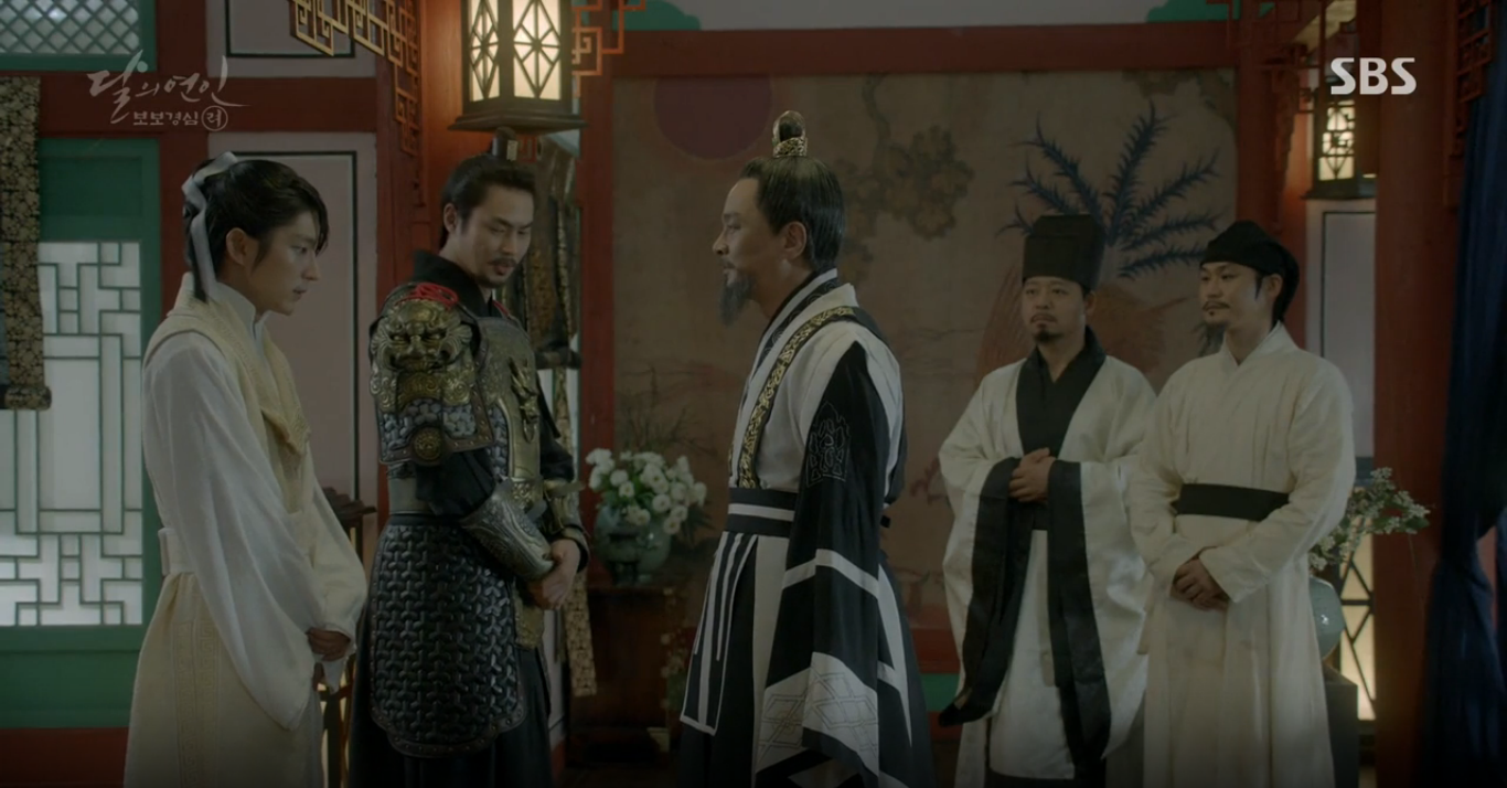 Moon Lovers: Hoàng tử Baekhyun sống chết đòi tự tử để không phải thành thân - Ảnh 12.