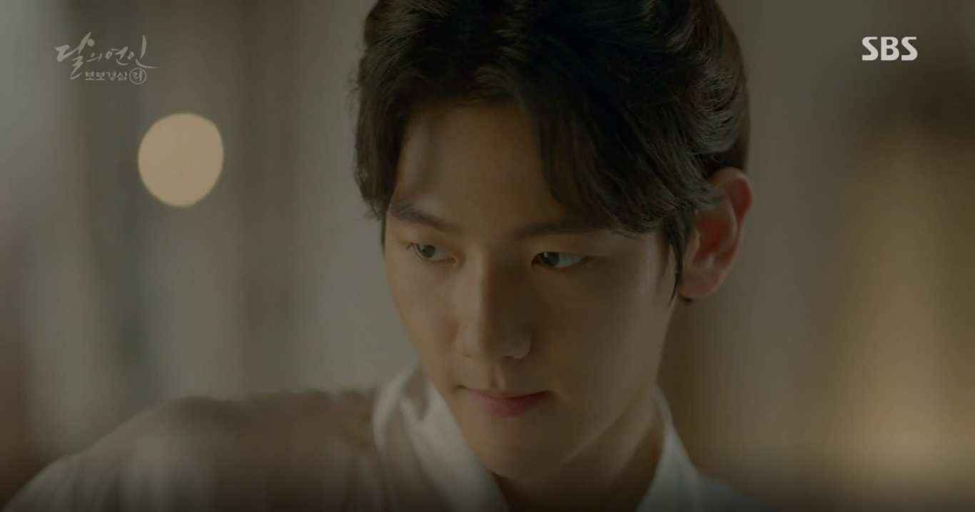 """Moon Lovers: """"Mười"""" Baekhyun chính thức có nụ hôn màn ảnh đầu tiên! - Ảnh 1."""