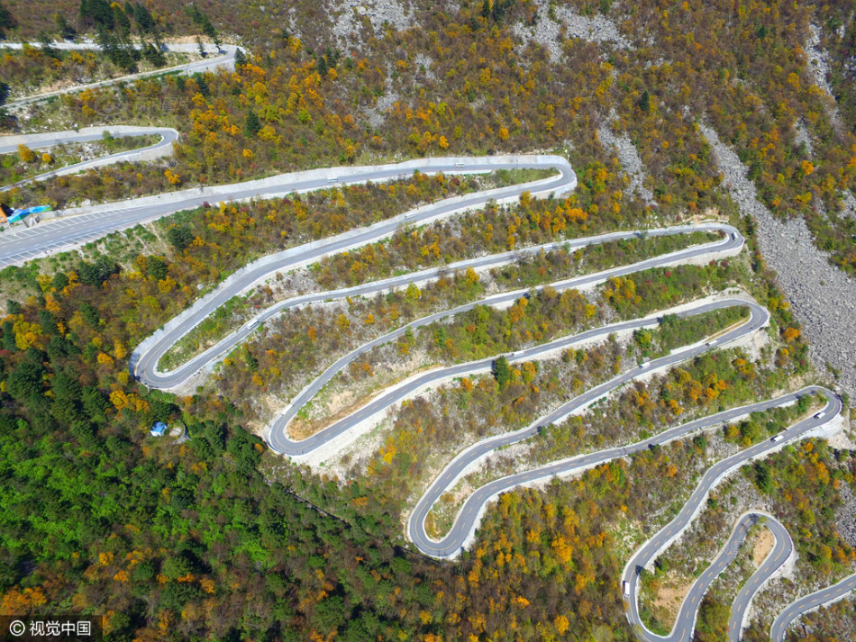 Con đường lắt léo nhất Trung Quốc: Thách bạn đi hết 72 khúc ngoặt này mà không chóng mặt - Ảnh 6.
