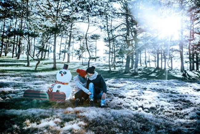 Cánh đồng tuyết đẹp đến ngỡ ngàng ở Đà Lạt - Ảnh 3.