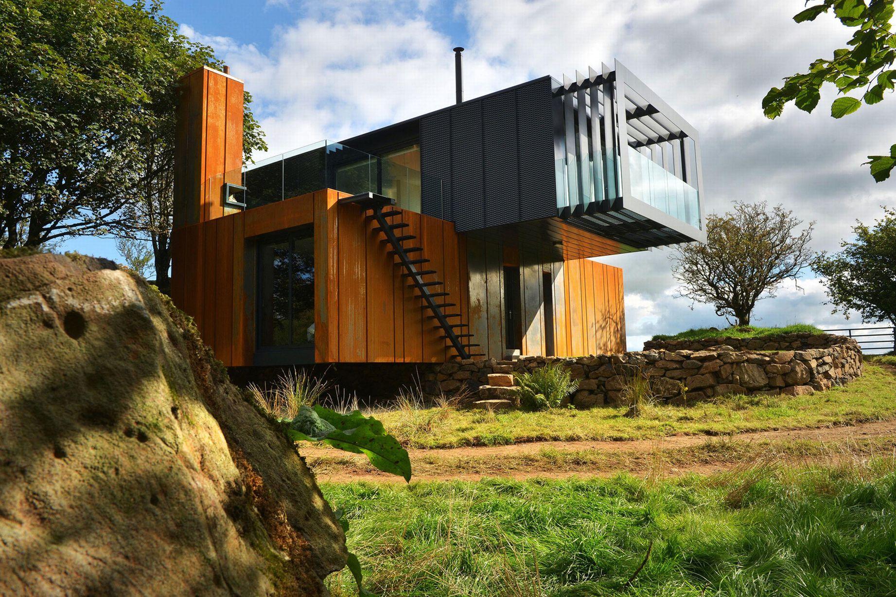 Chiêm ngưỡng 20 ngôi nhà đẹp như mơ làm từ container hàng hóa - Ảnh 5.