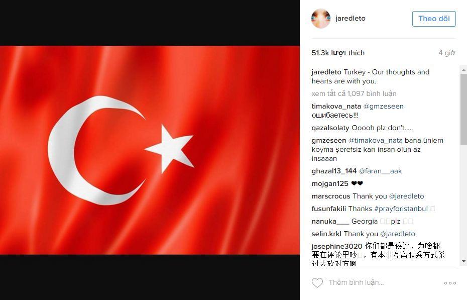Hàng loạt sao thế giới kinh hoàng vì vụ khủng bố dã man ở Thổ Nhĩ Kỳ - Ảnh 6.