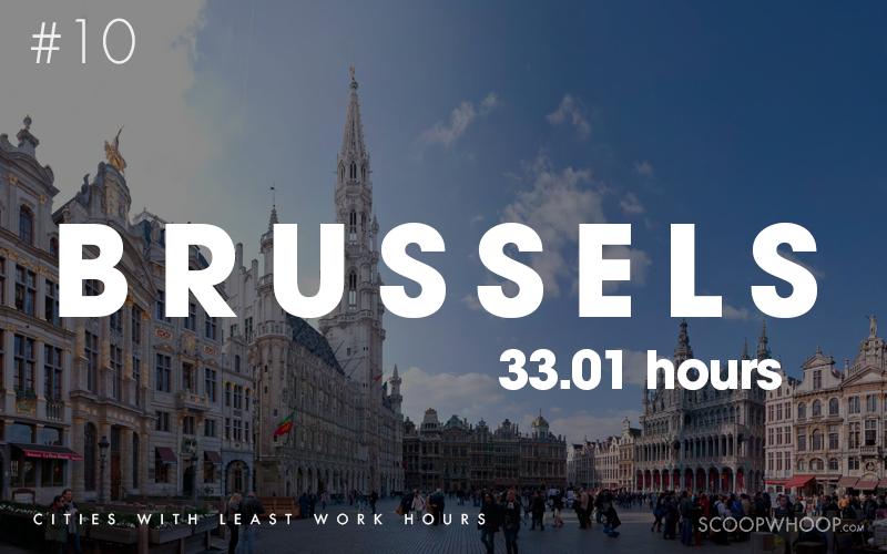10 thành phố có số giờ làm việc ít nhất thế giới - Ảnh 1.