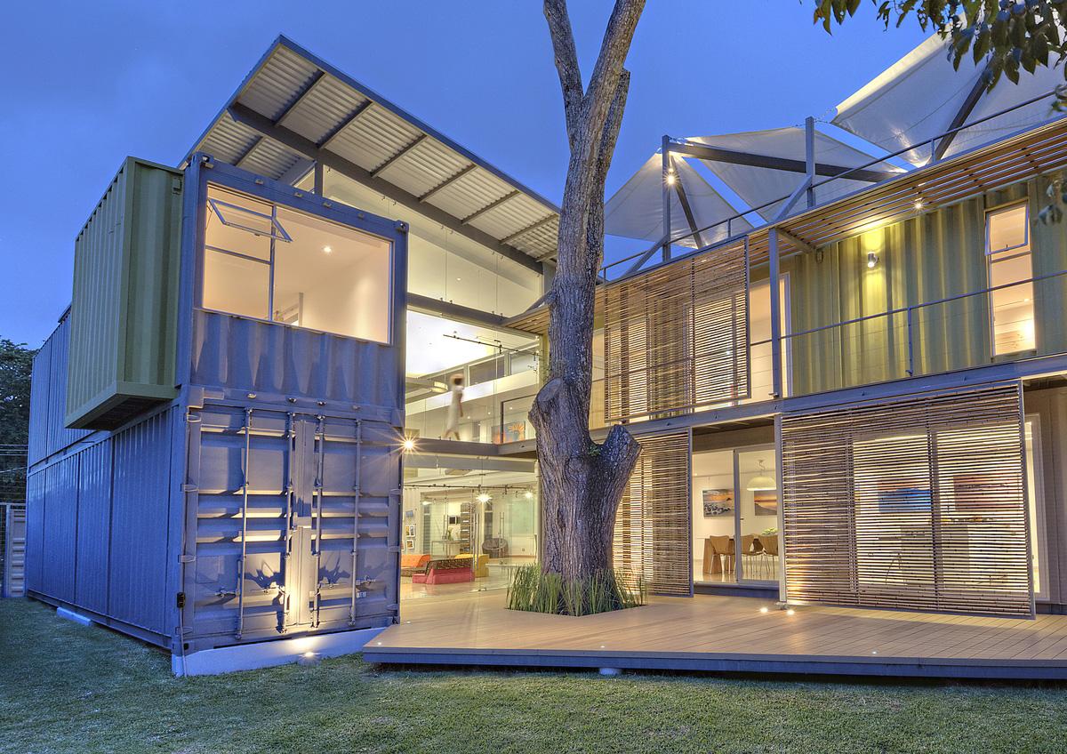Chiêm ngưỡng 20 ngôi nhà đẹp như mơ làm từ container hàng hóa - Ảnh 6.