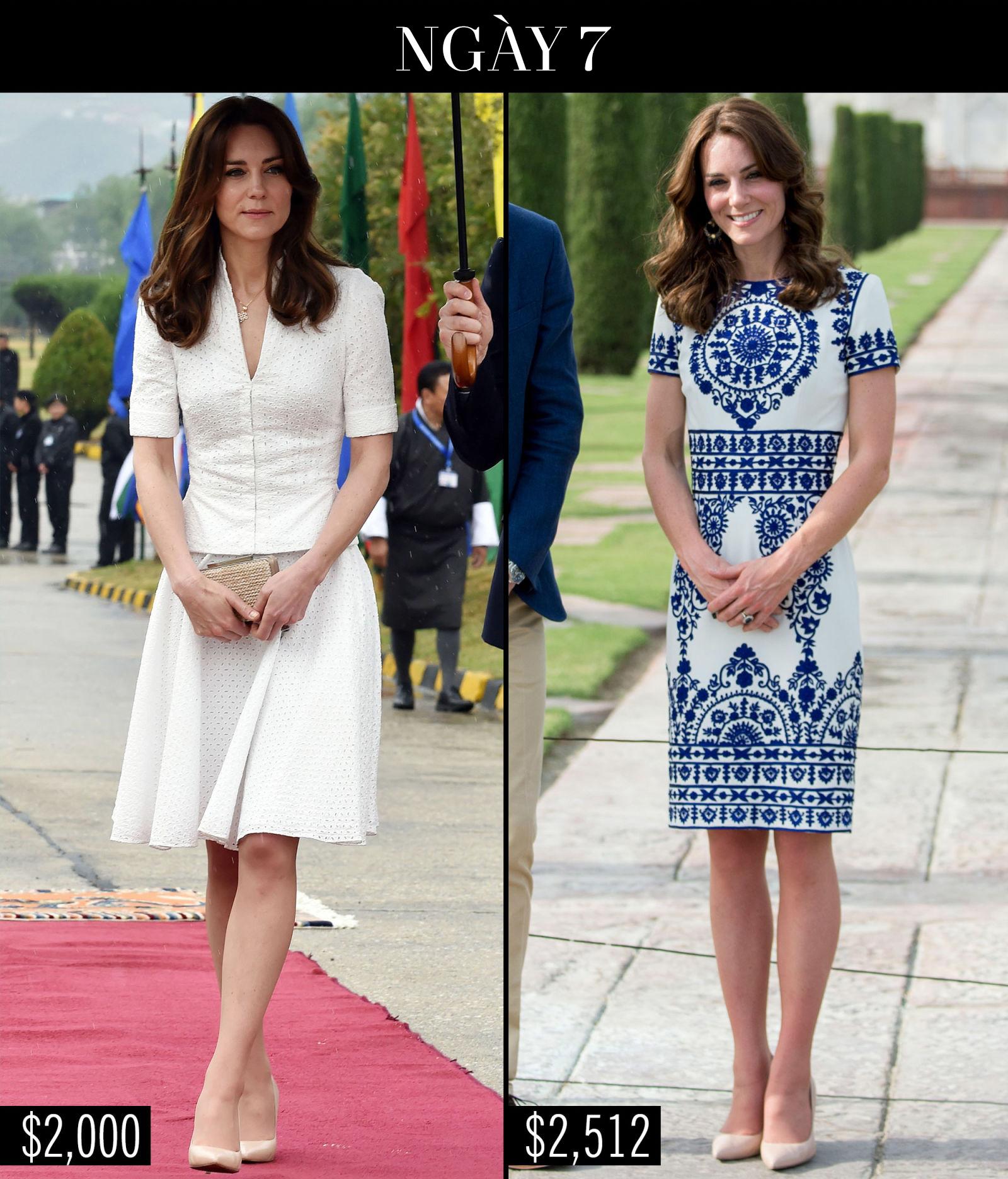 Công nương Kate chi hơn 1 tỉ VNĐ cho 17 bộ đồ trong tuần công du - Ảnh 22.