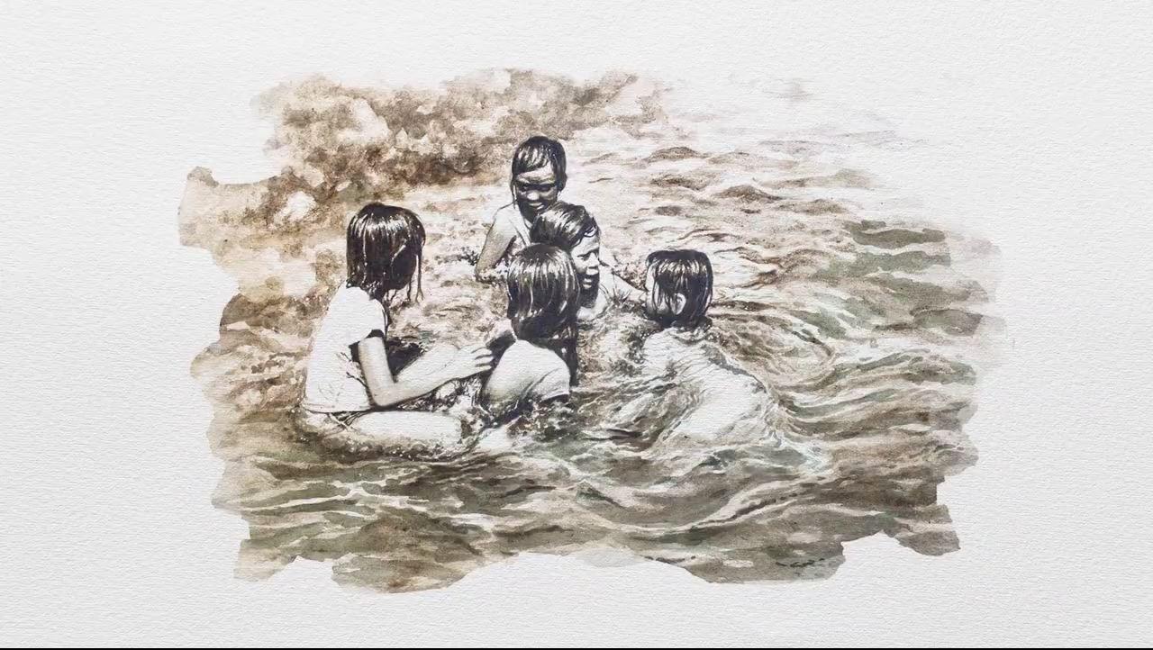 Từ nước thải hóa thành các tác phẩm hội họa ấn tượng - Ảnh 8.