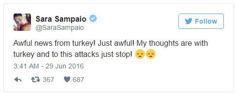 Hàng loạt sao thế giới kinh hoàng vì vụ khủng bố dã man ở Thổ Nhĩ Kỳ - Ảnh 7.