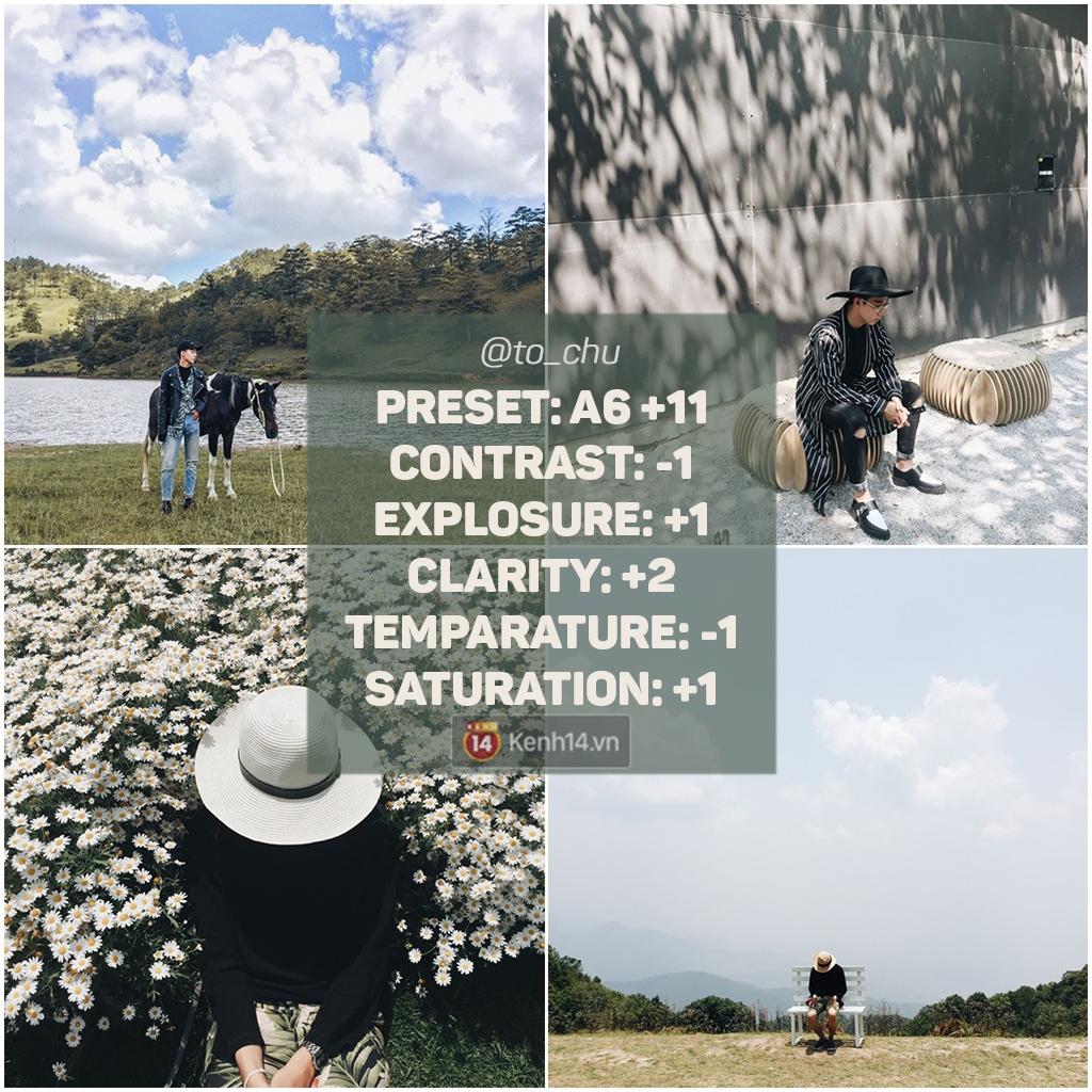 14 công thức chỉnh màu VSCO thần thánh đến từ các Instagramer chất nhất Việt Nam