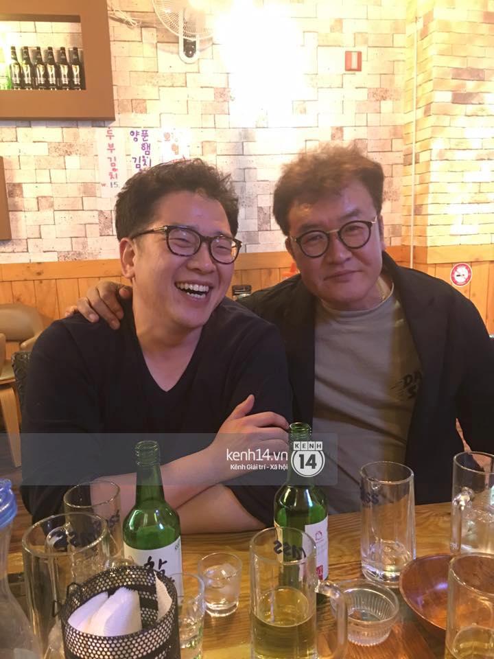 Đạo diễn Khải Anh hội ngộ Kang Tae Oh và dàn diễn viên Tuổi thanh xuân tại Hàn Quốc - Ảnh 5.