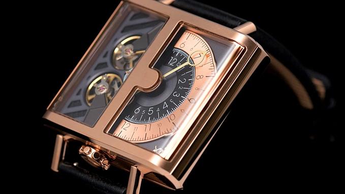 Ngắm chiếc đồng hồ hiện giờ chỉ bằng nửa con mắt cực sành điệu - Ảnh 4.
