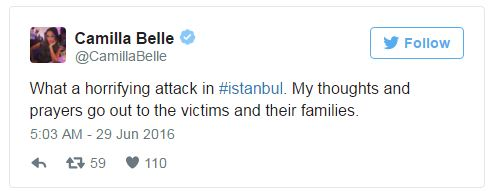 Hàng loạt sao thế giới kinh hoàng vì vụ khủng bố dã man ở Thổ Nhĩ Kỳ - Ảnh 8.