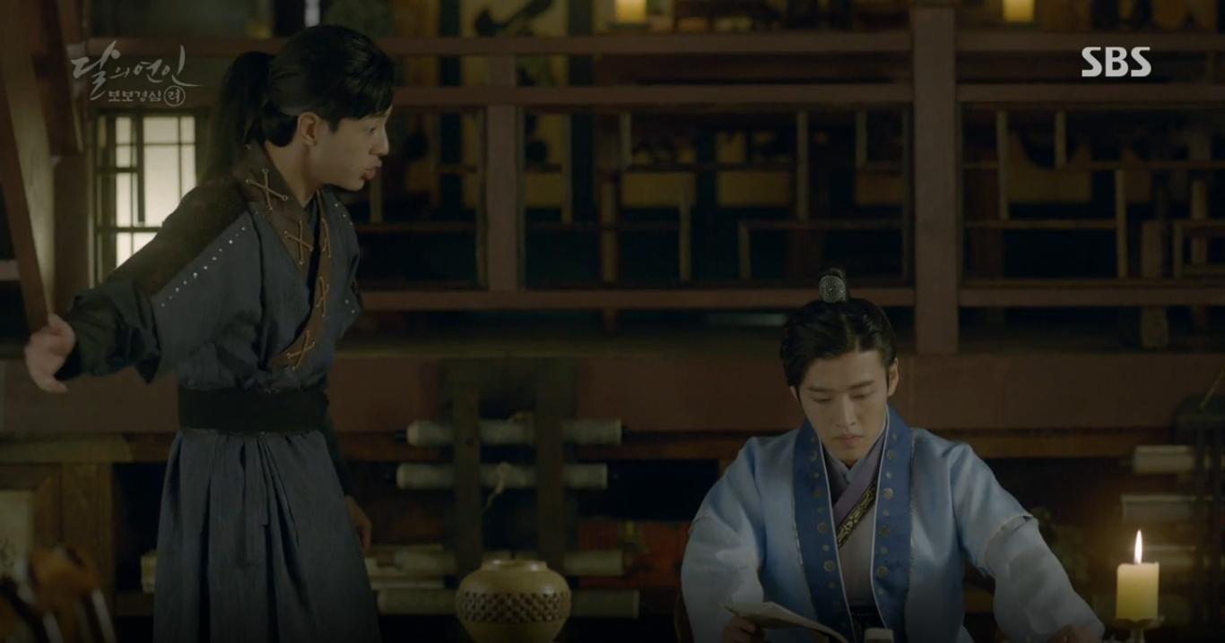 Moon Lovers: Anh Tư Lee Jun Ki xấu số, uống phải trà hạ độc từ chính mẹ mình - Ảnh 6.