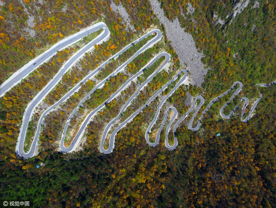 Con đường lắt léo nhất Trung Quốc: Thách bạn đi hết 72 khúc ngoặt này mà không chóng mặt - Ảnh 9.