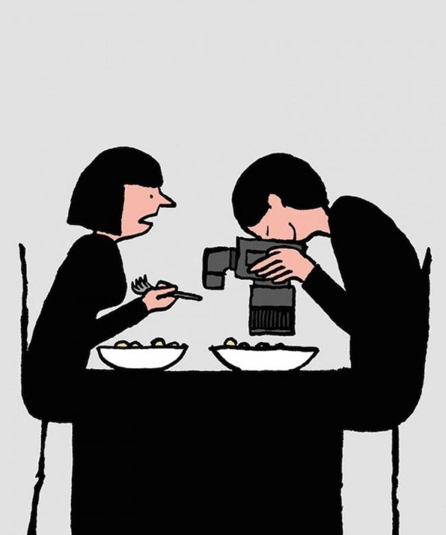 Bộ tranh: Giật mình với hình ảnh của mỗi chúng ta trong thời đại công nghệ - Ảnh 15.
