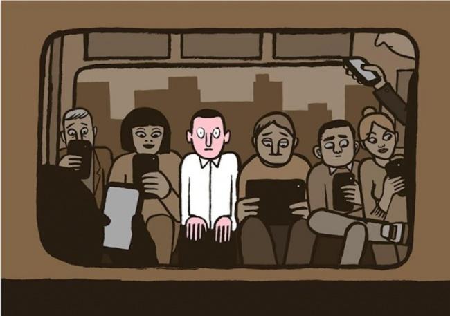 Bộ tranh: Giật mình với hình ảnh của mỗi chúng ta trong thời đại công nghệ - Ảnh 21.
