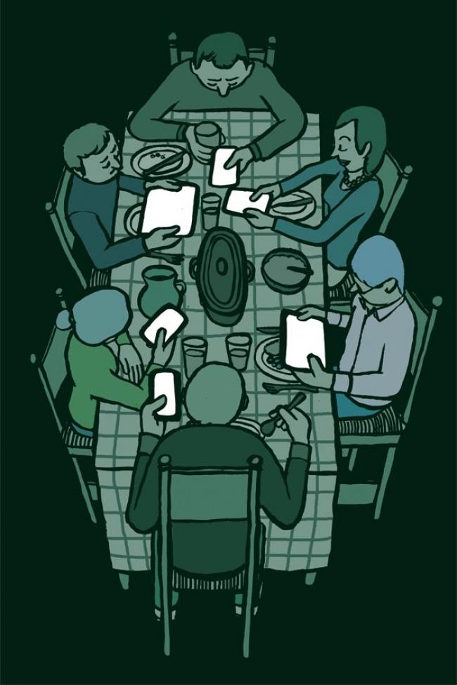 Bộ tranh: Giật mình với hình ảnh của mỗi chúng ta trong thời đại công nghệ - Ảnh 25.