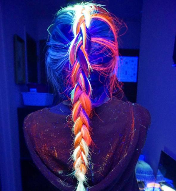 Tóc phát sáng trong bóng tối - Xu hướng tóc nhuộm hot nhất đầu năm 2016 - Ảnh 10.