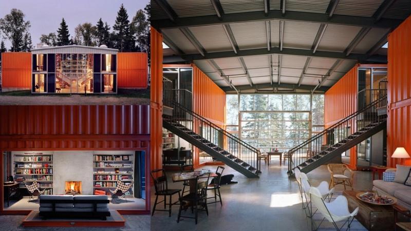 Chiêm ngưỡng 20 ngôi nhà đẹp như mơ làm từ container hàng hóa - Ảnh 8.