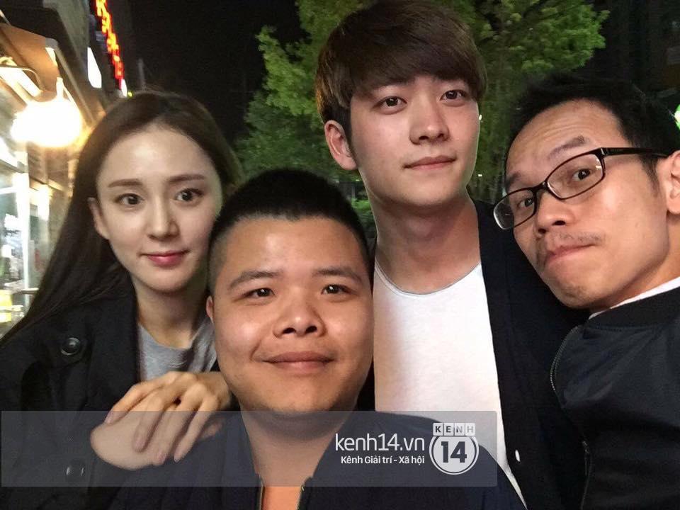 Đạo diễn Khải Anh hội ngộ Kang Tae Oh và dàn diễn viên Tuổi thanh xuân tại Hàn Quốc - Ảnh 6.