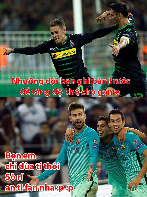 Ảnh chế: Học Barca giả vờ thua, Man City suýt chút nữa ăn gạch - Ảnh 5.