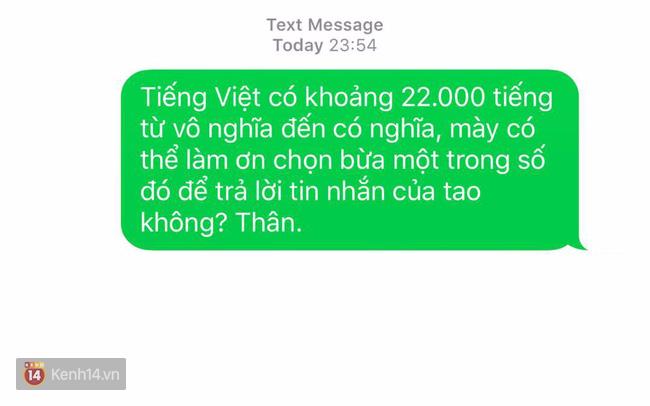1001 câu để đối phó với những người nhắn tin mãi không thèm trả lời - Ảnh 9.