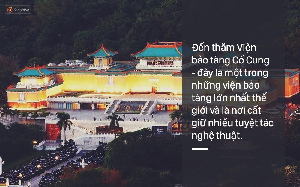 16 lí do tuyệt vời vì sao bạn phải đi Đài Loan ngay trong năm nay! - Ảnh 27.