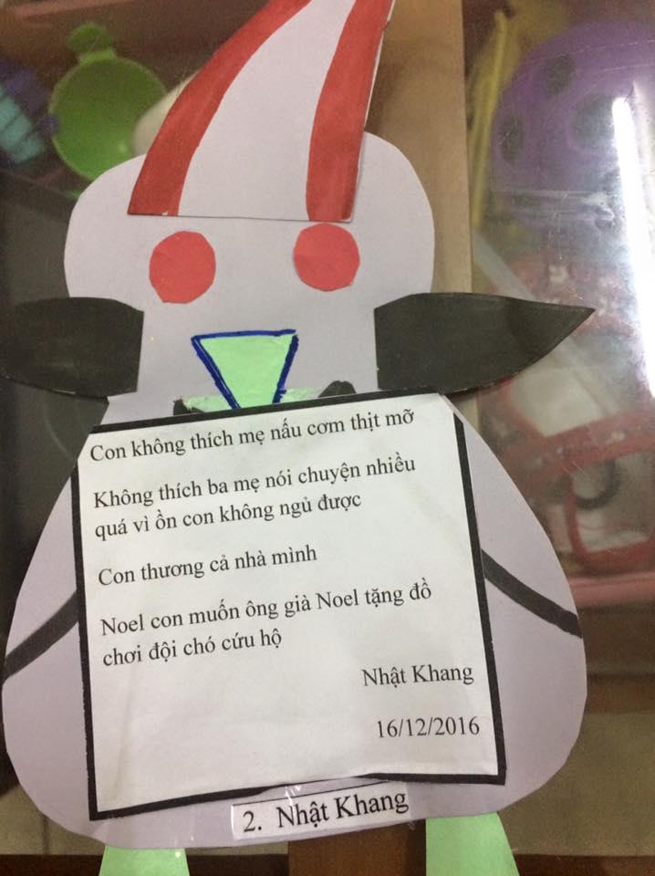 Thư gửi ông già Noel của các bé nhân dịp lễ Giáng Sinh sắp về - Ảnh 8.