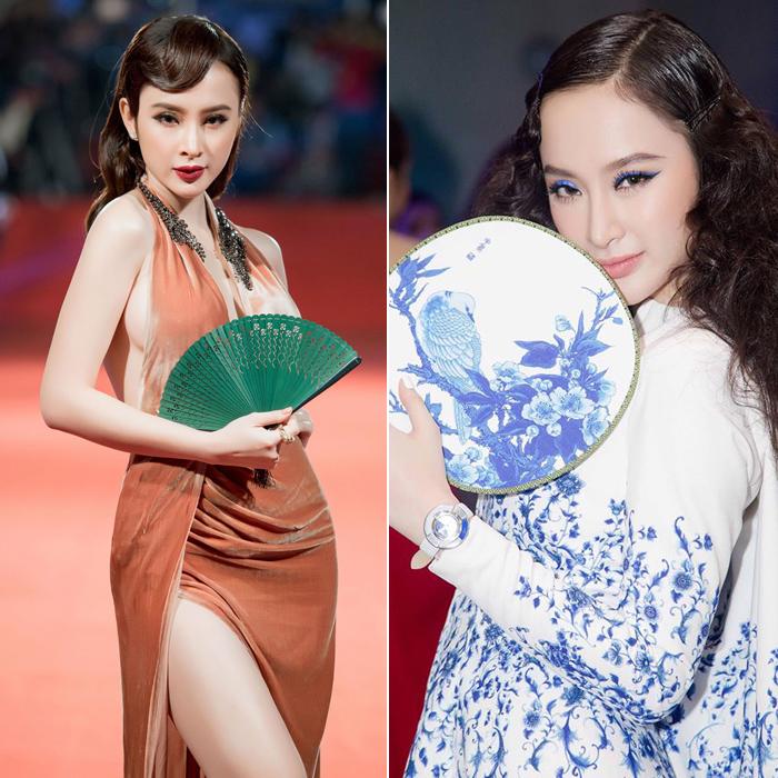Nữ hoàng thảm đỏ 2016: Angela Phương Trinh, Chi Pu, Phạm Hương... ai xứng đáng nhất? - Ảnh 2.