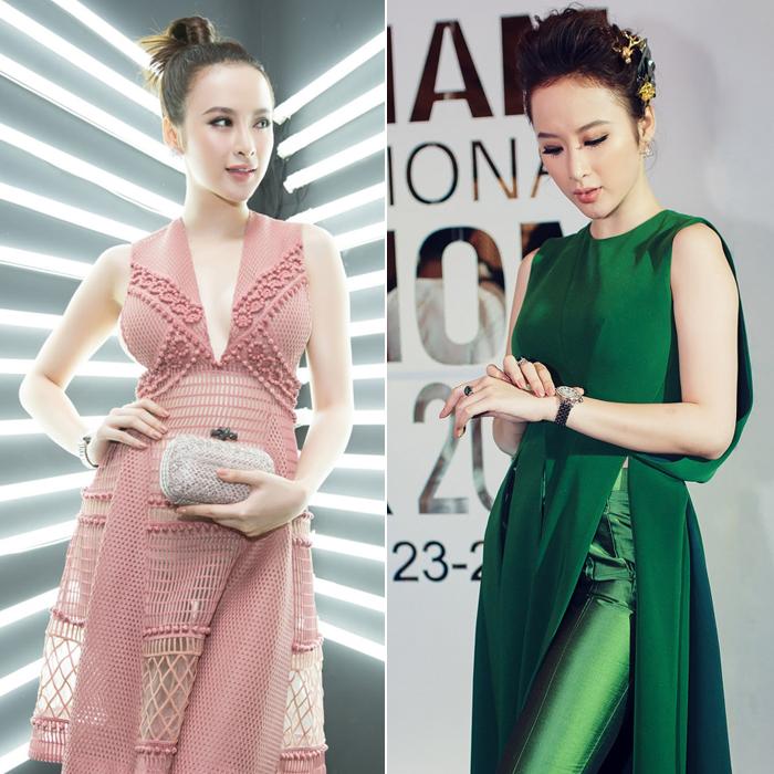 Nữ hoàng thảm đỏ 2016: Angela Phương Trinh, Chi Pu, Phạm Hương... ai xứng đáng nhất? - Ảnh 5.