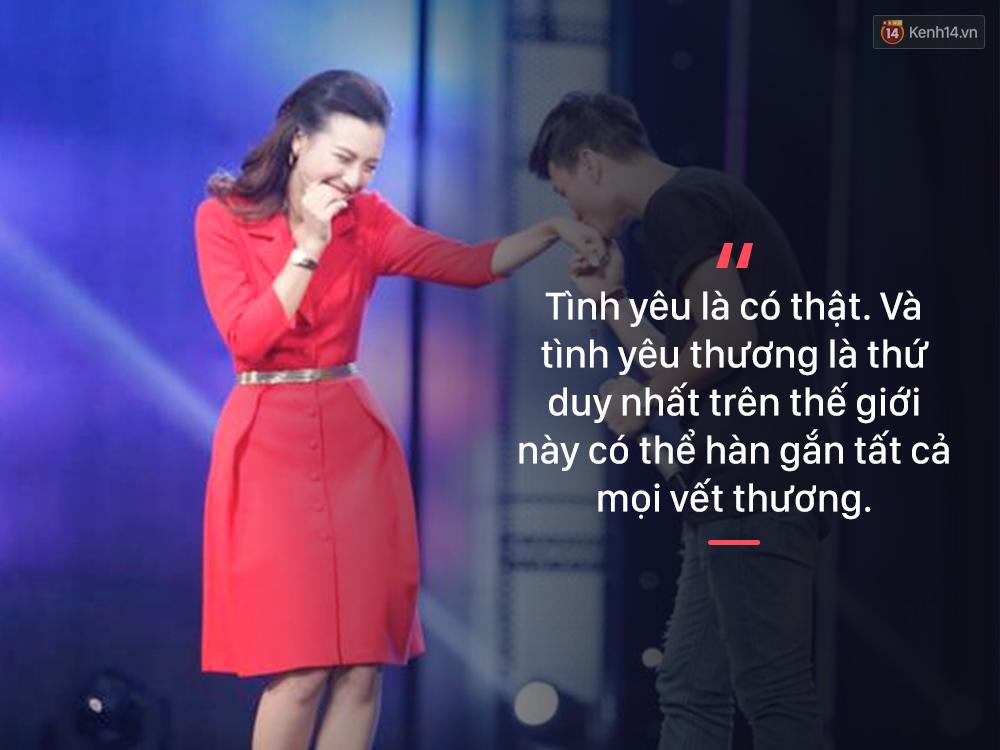 """MC Hoàng Oanh : Khi chúng ta tan vỡ, một là chúng ta yêu sai. """""""