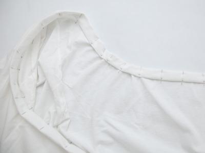 Lục áo thun cũ chế lại thành váy hở vai hot trend thôi! - Ảnh 6.
