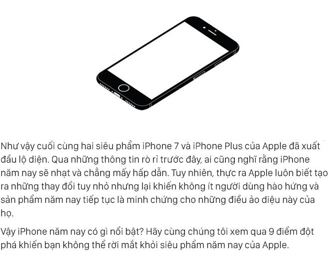 10 điểm đột phá trên iPhone 7 và iPhone 7 Plus khiến bạn không mua không được - Ảnh 1.