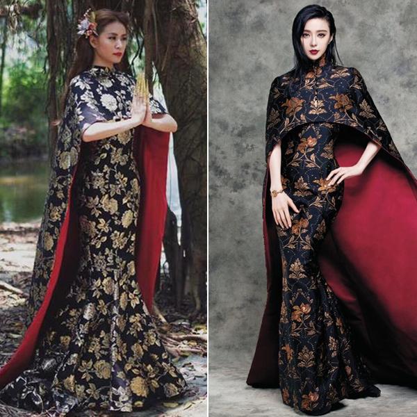 MV mới ra mắt vừa được khen ngất, Hoàng Thùy Linh đã vướng nghi án mặc váy nhái - Ảnh 5.