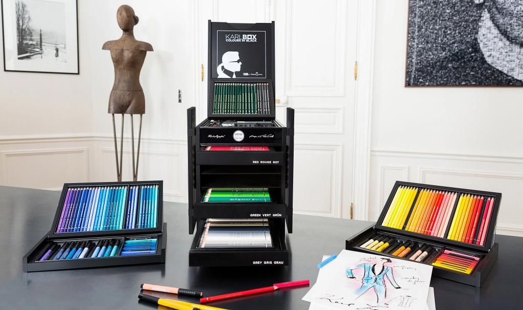 Tìm hiểu xem có gì bên trong hộp bút chì màu sang chảnh giá 66 triệu đồng? - Ảnh 1.