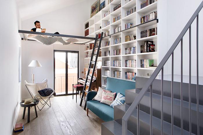 20 ý tưởng xây phòng đọc sách đẹp lung linh dành cho hội mọt sách - Ảnh 9.