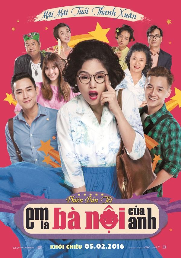 Em Là Bà Nội Của Anh xác lập kỷ lục phim có doanh thu cao nhất lịch sử điện ảnh Việt - Ảnh 1.