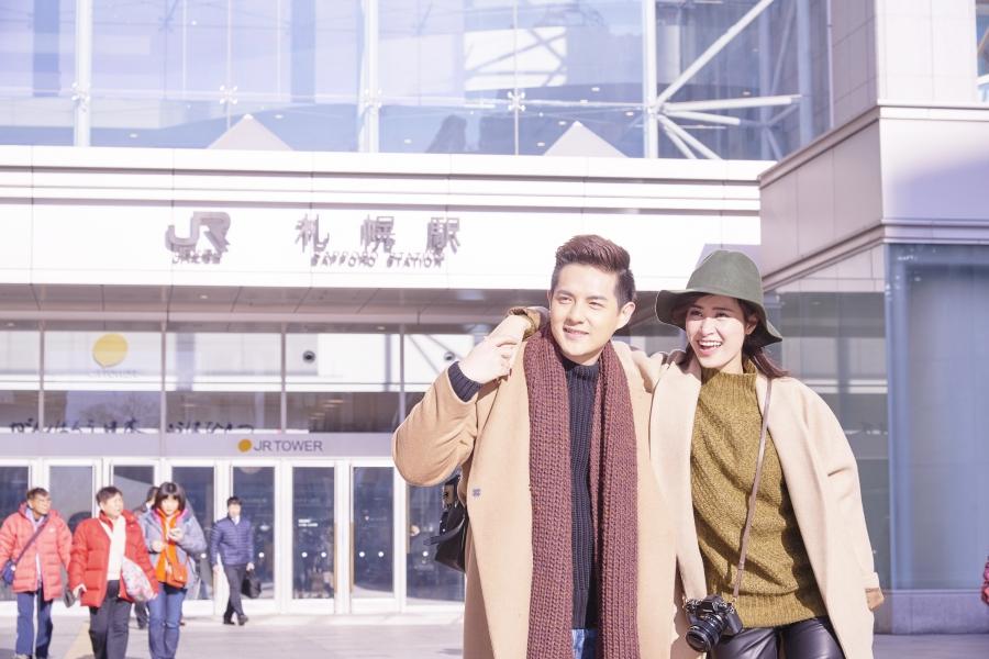 Đông Nhi - Ông Cao Thắng sang Nhật Bản quay MV kỉ niệm 7 năm yêu nhau - Ảnh 4.