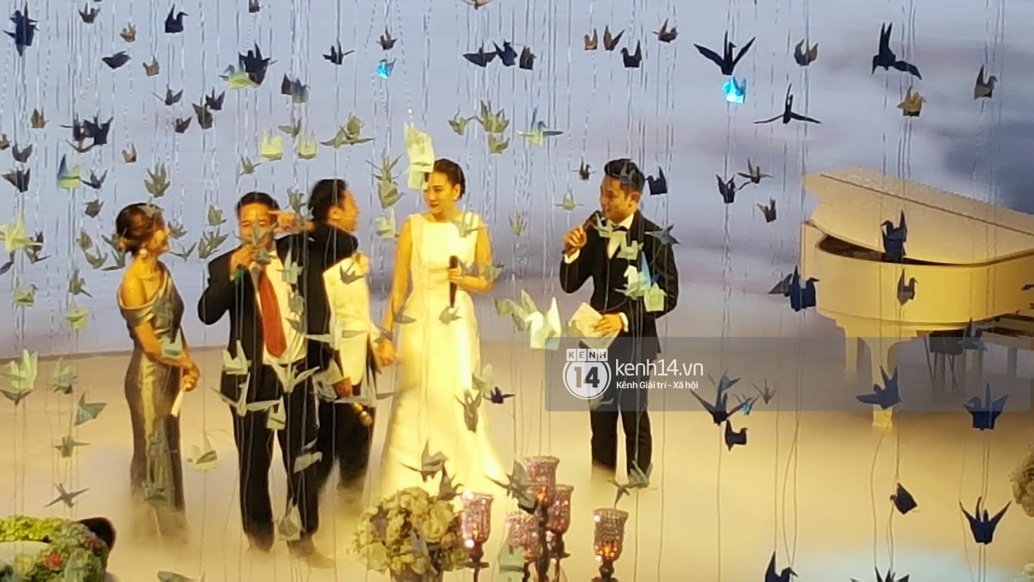 Đám cưới MC Mai Ngọc: Không gian lộng lẫy, cầu kỳ, xứng đáng là đám cưới sang chảnh nhất Hà Nội hôm nay - Ảnh 27.