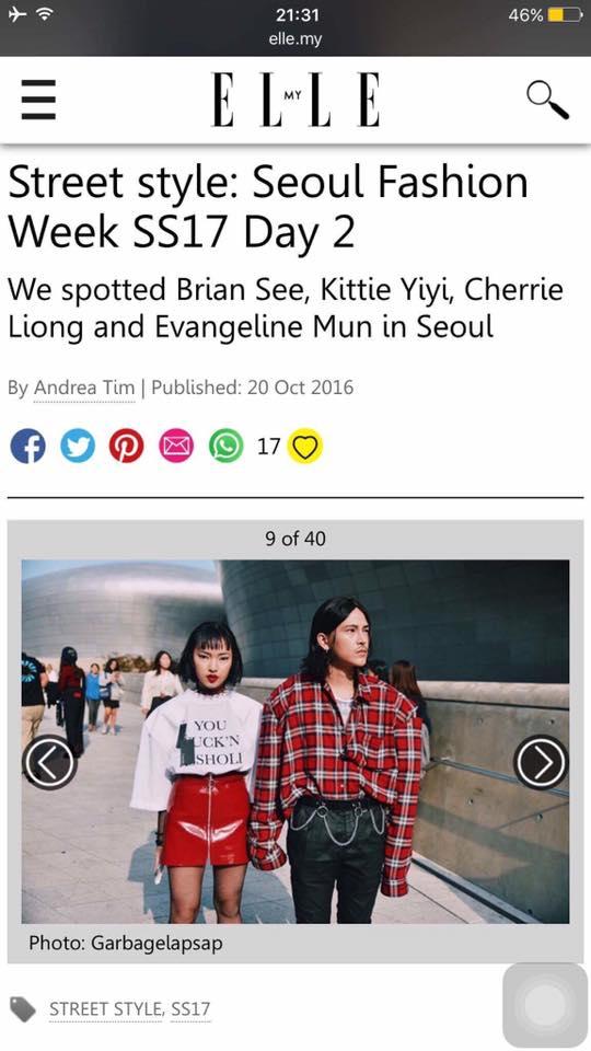 Sau 4 ngày, Châu Bùi & Cao Minh Thắng đánh chiếm đến cả chục mặt báo và blog thời trang! - Ảnh 3.