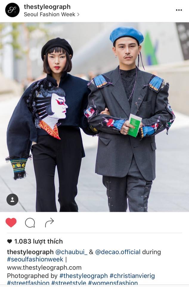 Sau 4 ngày, Châu Bùi & Cao Minh Thắng đánh chiếm đến cả chục mặt báo và blog thời trang! - Ảnh 9.