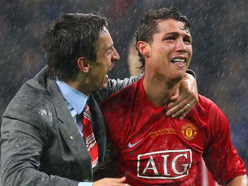 5 lần Ronaldo mít ướt, òa khóc trước mặt mọi người - Ảnh 7.